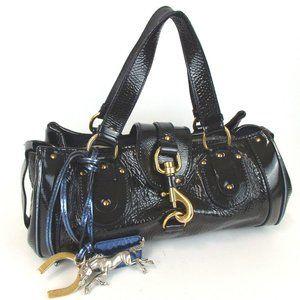 Auth Chloe Kerala Leather Handbag #3194C41